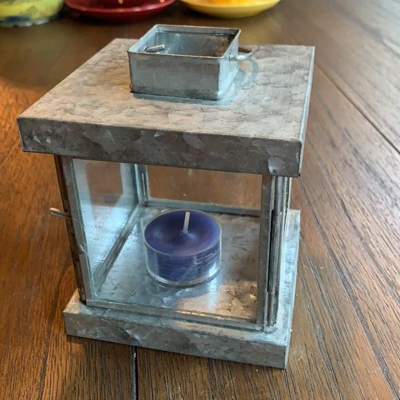 Pottery Barn Metal Hanging Tea Light Lantern